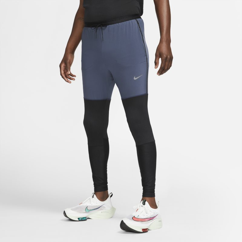 Nike Dri-FIT Phenom Run Division Pantalón largo híbrido de running - Hombre - Azul