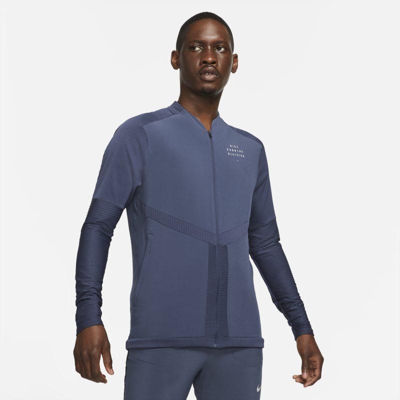 Nike Dri-FIT Run Division Camiseta de running con cremallera completa - Hombre - Azul