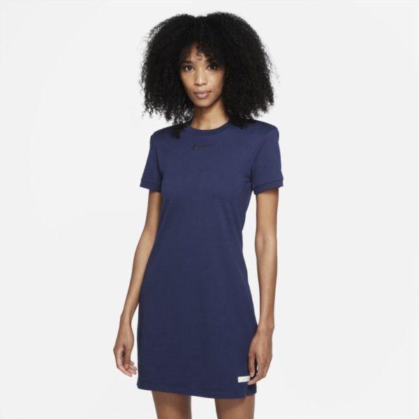 Nike Sportswear Icon Clash Vestido de manga corta - Mujer - Azul