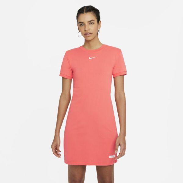 Nike Sportswear Icon Clash Vestido de manga corta - Mujer - Naranja