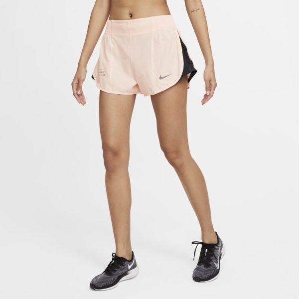 Nike Dri-FIT Run Division Tempo Luxe Pantalón corto de Running - Mujer - Naranja