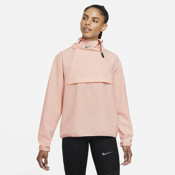 Nike Dri-FIT Run Division Chaqueta running plegable - Mujer - Naranja