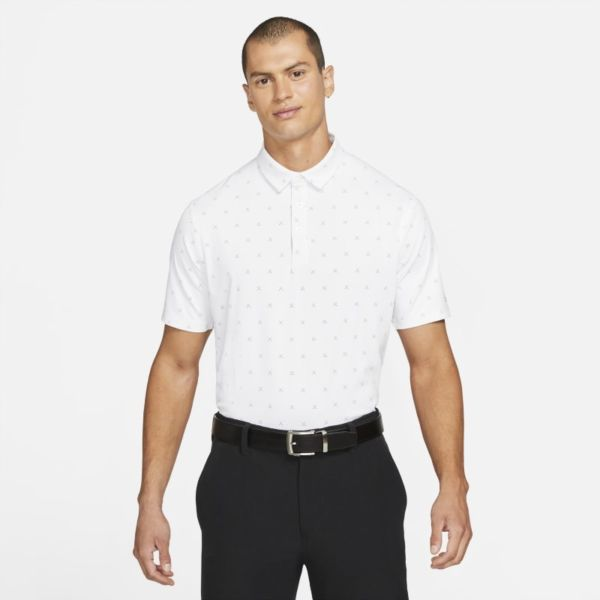 Nike Dri-FIT Player Polo de golf con estampado - Hombre - Blanco