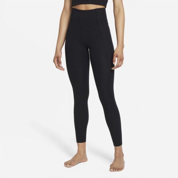 Nike Yoga Luxe Dri-FIT Leggings de 7/8 con Infinalon y cintura alta - Mujer - Negro
