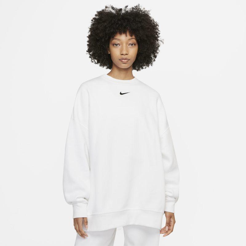Nike Sportswear Collection Essentials Sudadera oversize de tejido Fleece - Mujer - Blanco