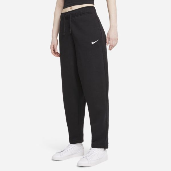 Nike Sportswear Collection Essentials Pantalón con curvas de tejido Fleece - Mujer - Negro