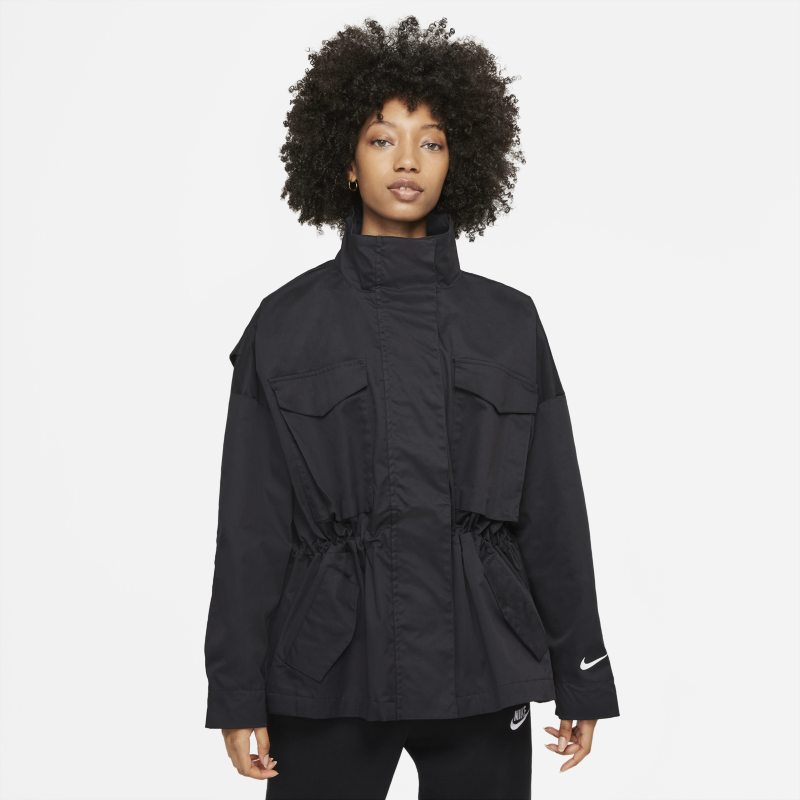 Nike Sportswear Collection Essentials Chaqueta M65 - Mujer - Negro