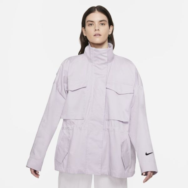 Nike Sportswear Collection Essentials Chaqueta M65 - Mujer - Morado