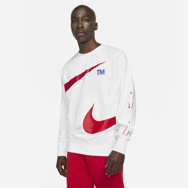Nike Sportswear Swoosh Sudadera de tejido Fleece - Hombre - Blanco