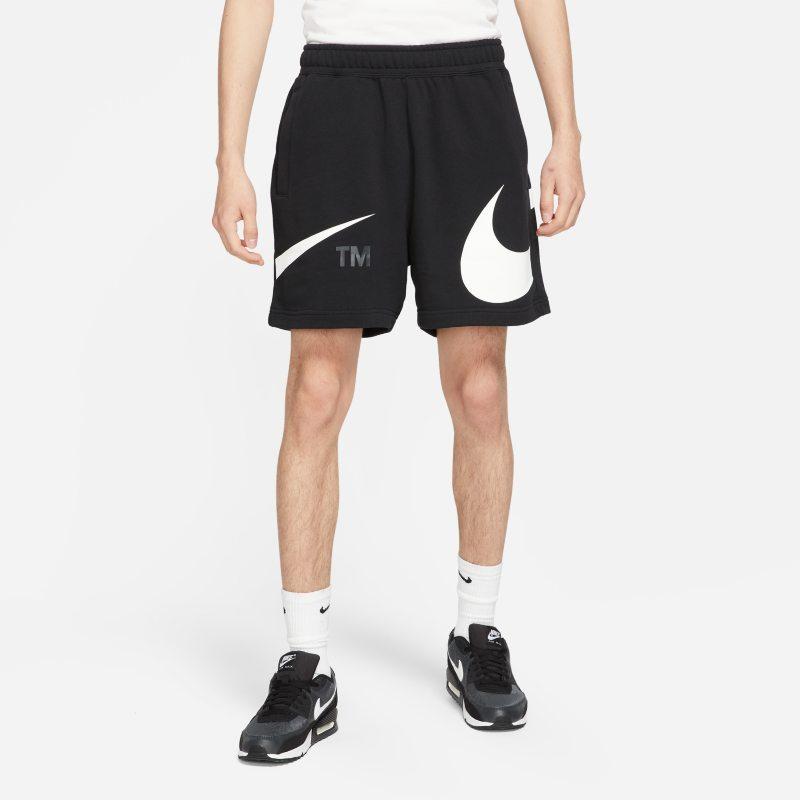 Nike Sportswear Swoosh Pantalón corto de tejido French terry - Hombre - Negro