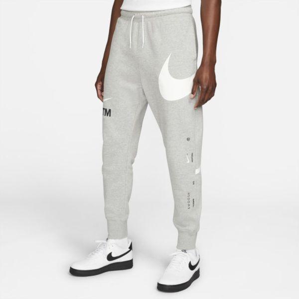 Nike Sportswear Swoosh Pantalón semicepillado en la parte posterior - Hombre - Gris