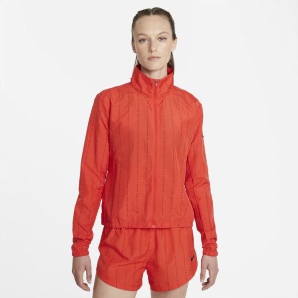 Nike Dri-FIT Icon Clash Chaqueta de running - Mujer - Rojo