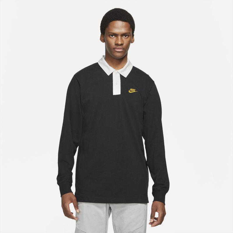 Nike Sportswear Camiseta de rugby - Hombre - Negro