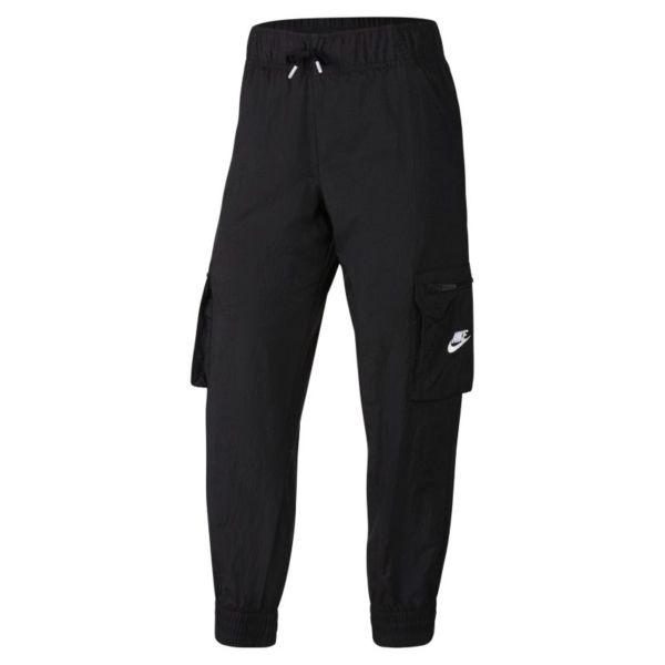 Nike Sportswear Pantalón militar de tejido Woven -Niña - Negro