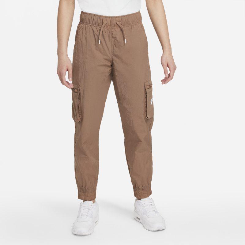 Nike Sportswear Pantalón militar de tejido Woven -Niña - Marrón