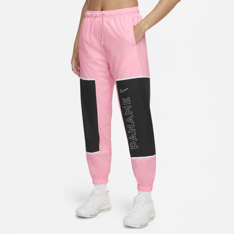 París Saint-Germain Pantalón de fútbol de tejido Woven - Mujer - Rosa