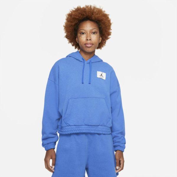 Jordan Essentials Sudadera con capucha de tejido Fleece - Mujer - Azul