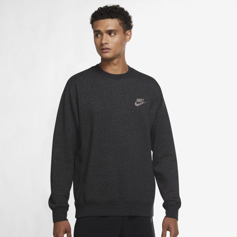Nike Sportswear Sport Essentials+ Camiseta de cuello redondo semicepillada - Hombre - Negro