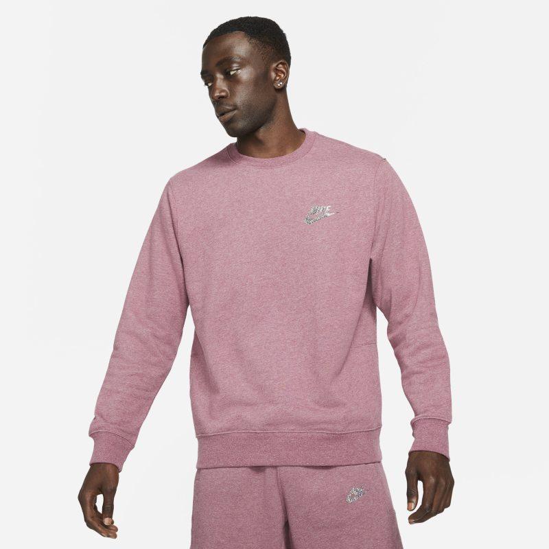 Nike Sportswear Sport Essentials+ Camiseta de cuello redondo semicepillada - Hombre - Morado