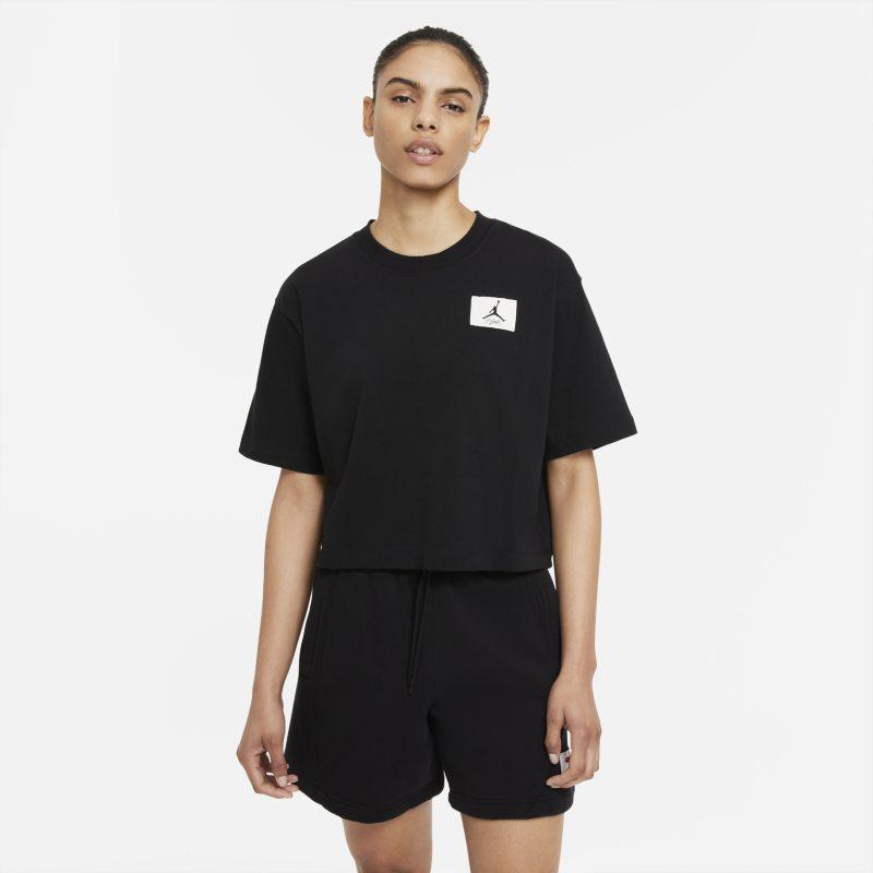 Jordan Essentials Camiseta cuadrada - Mujer - Negro