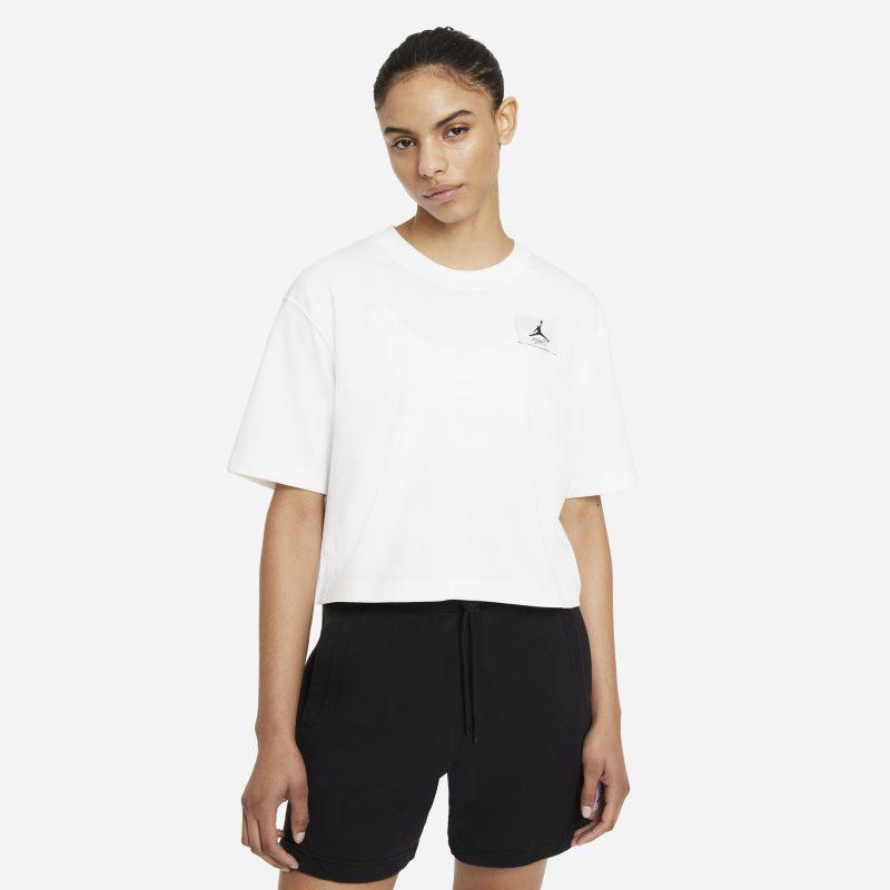 Jordan Essentials Camiseta cuadrada - Mujer - Blanco