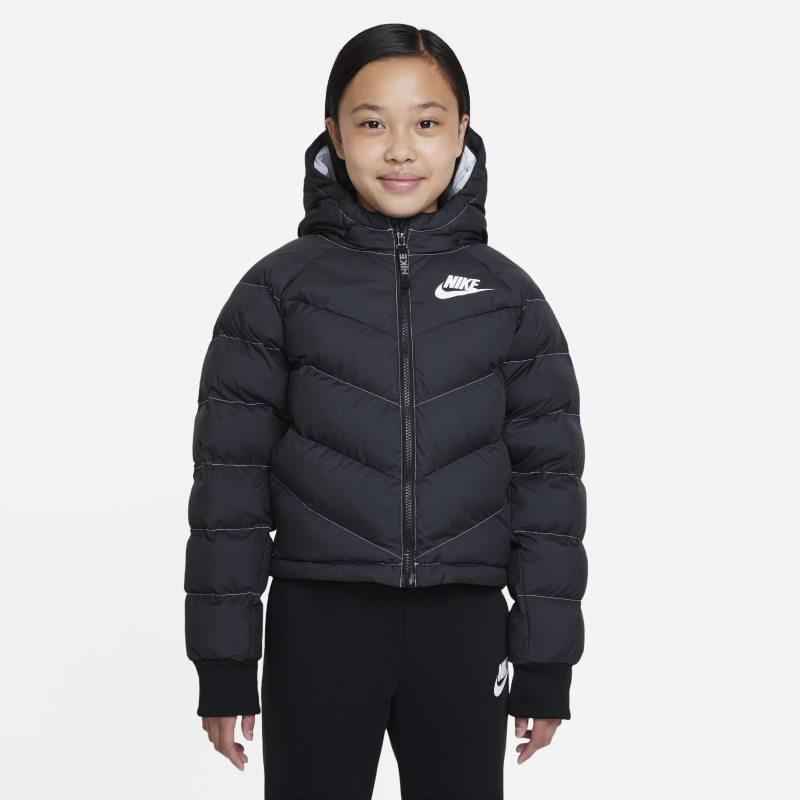 Nike Sportswear Chaqueta con capucha con relleno sintético - Niña - Negro