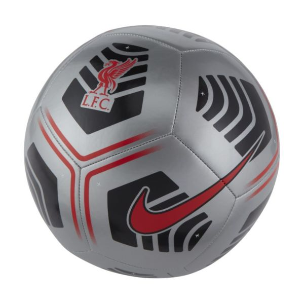 Liverpool FC Pitch Balón de fútbol - Gris