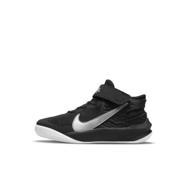 Nike Team Hustle D 10 FlyEase Zapatillas - Niño/a pequeño/a - Negro
