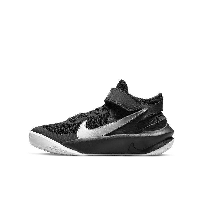 Nike Team Hustle D 10 FlyEase Zapatillas de baloncesto - Niño/a - Negro