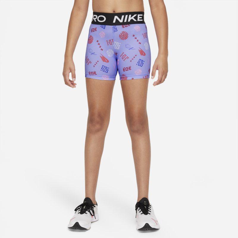 Nike Pro Dri-FIT Pantalón corto - Niña - Morado