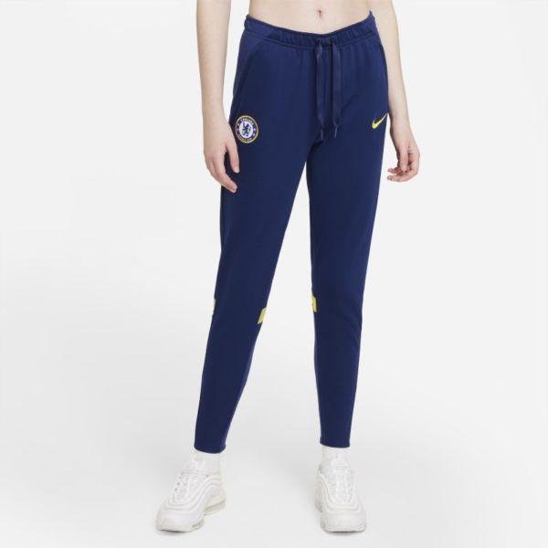 Chelsea FC Pantalón de fútbol de tejido Fleece - Mujer - Azul