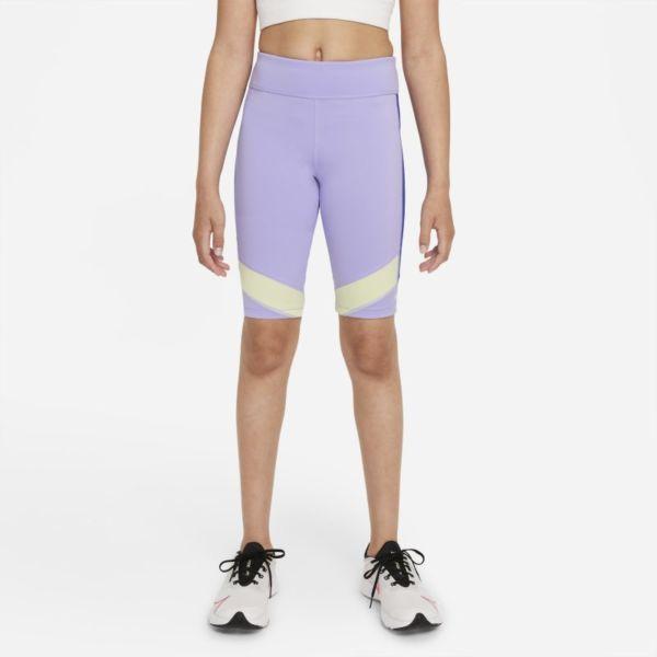 Nike Dri-FIT One Pantalón corto de ciclismo - Niña - Morado
