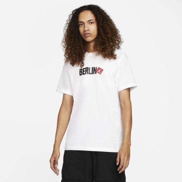 Jordan Berlin Camiseta de manga corta - Hombre - Blanco