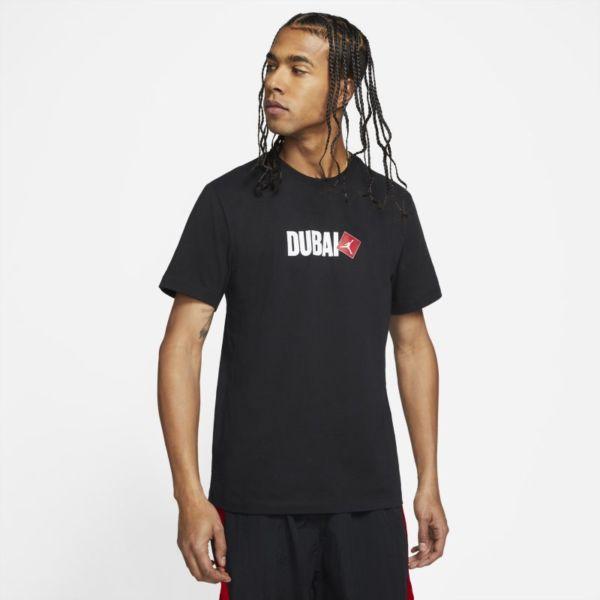 Jordan Dubai Camiseta de manga corta - Hombre - Negro