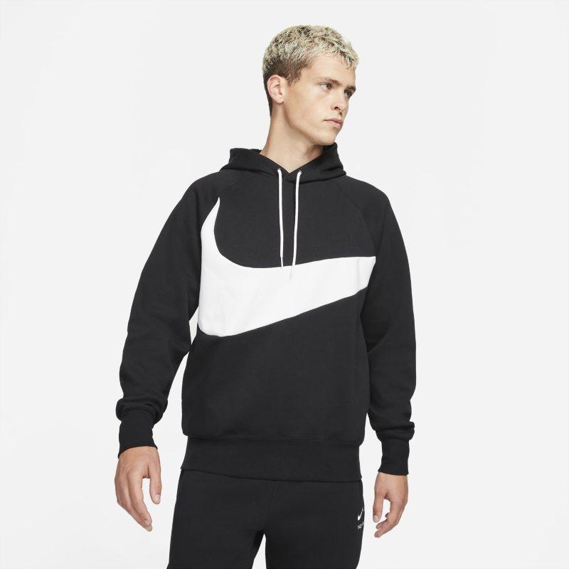 Nike Sportswear Swoosh Tech Fleece Sudadera con capucha - Hombre - Negro