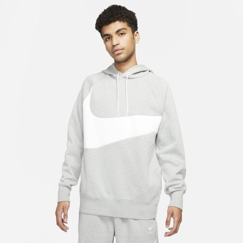 Nike Sportswear Swoosh Tech Fleece Sudadera con capucha - Hombre - Gris