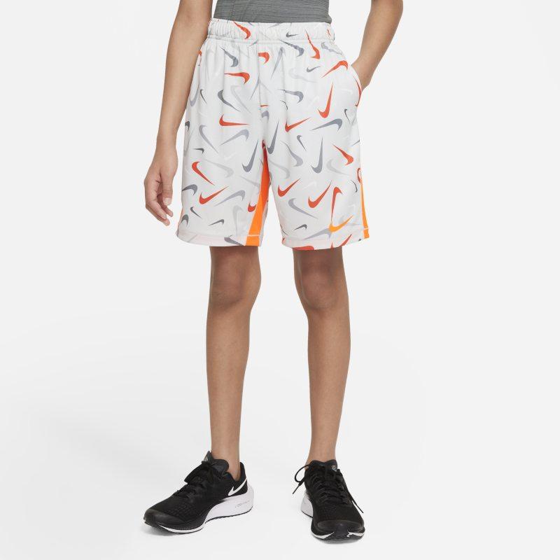 Nike Dri-FIT Pantalón corto de entrenamiento - Niño - Gris