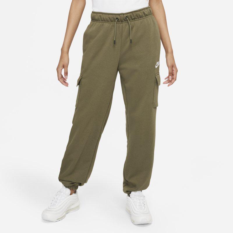 Nike Sportswear Essentials Pantalón militar de talle medio - Mujer - Marrón