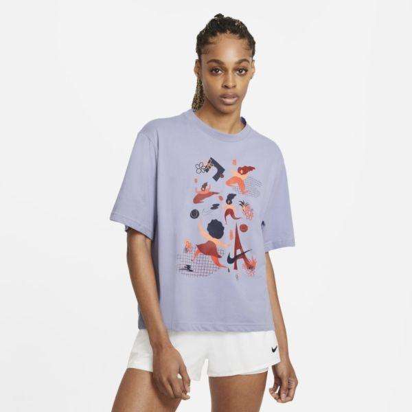 NikeCourt Dri-FIT Camiseta de tenis - Mujer - Morado