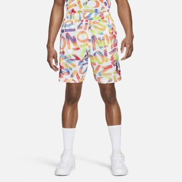 Jordan Dri-FIT Zion Pantalón corto de tejido Woven de alto rendimiento - Hombre - Blanco