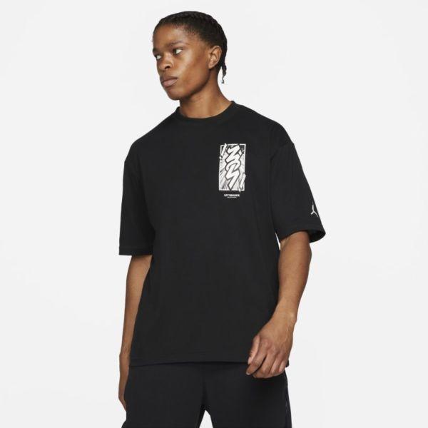 Jordan Dri-FIT Zion Camiseta de manga corta - Hombre - Negro