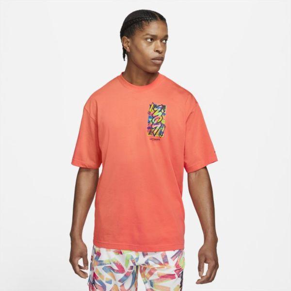 Jordan Dri-FIT Zion Camiseta de manga corta - Hombre - Naranja