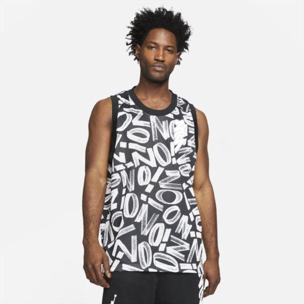 Jordan Dri-FIT Zion Camiseta con estampado - Hombre - Negro