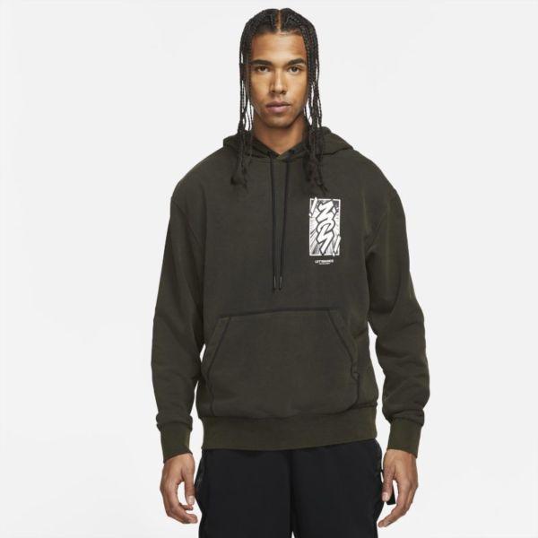 Jordan Dri-FIT Zion Sudadera con capucha de alto rendimiento - Hombre - Negro
