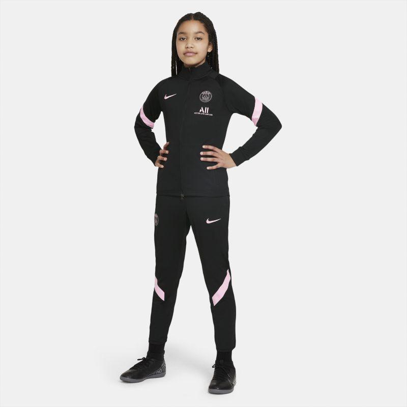 París Saint-Germain Strike Away Chándal de fútbol Nike Dri-FIT - Niño/a - Negro