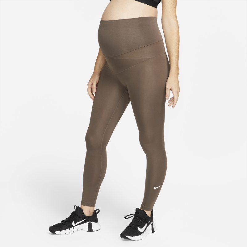 Nike One (M) Leggings - Mujer (Maternity) - Marrón