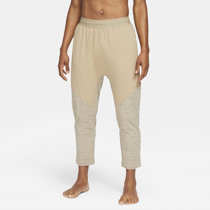 Nike Yoga Dri-FIT Pantalón - Hombre - Marrón