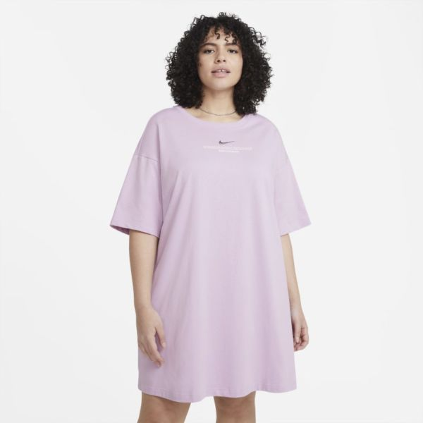 Nike Sportswear Swoosh Vestido (tallas grandes) - Mujer - Morado