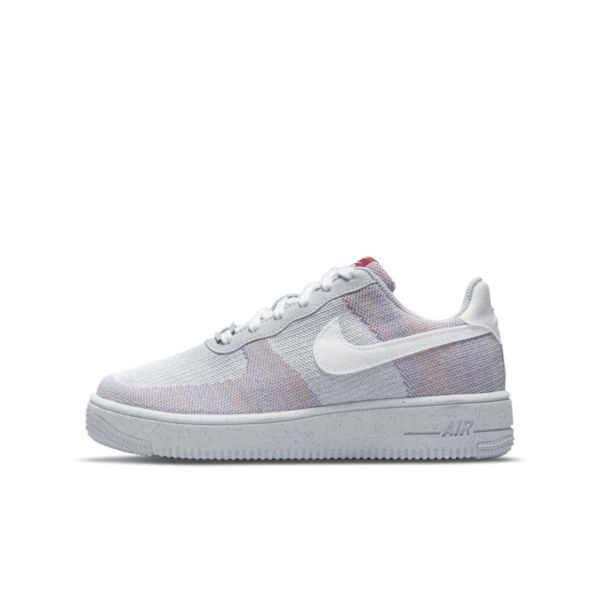 Nike Air Force 1 Crater Flyknit Zapatillas - Niño/a - Gris