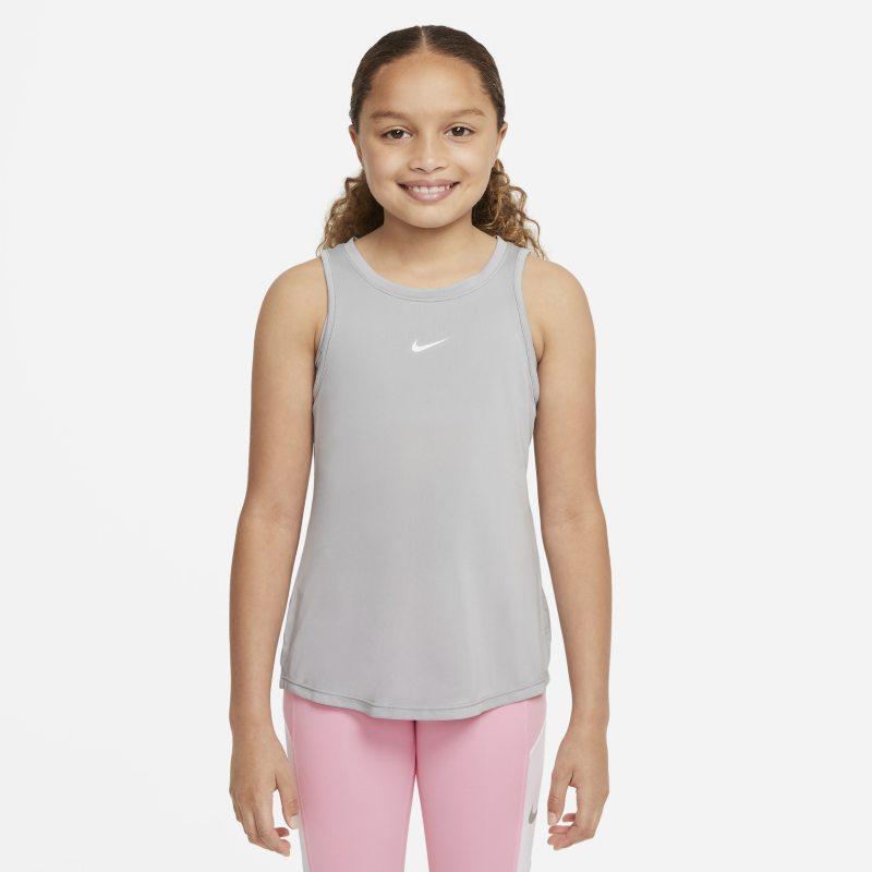 Nike Dri-FIT One Camiseta de tirantes - Niña - Gris